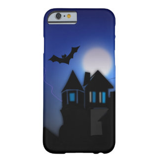 Spooky Moonlit Haunted Mansion iPhone 6 Case Barely There iPhone 6 Case