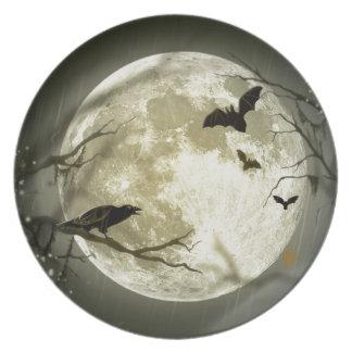 Spooky Night Plate