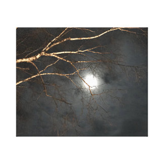 Spooky Night Sky Wall Art