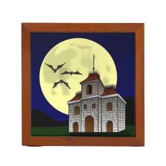 SPOOKY NIGHT, SPOOKY HOUSE (Halloween) ~ Pencil Holder