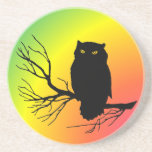 Spooky Owl Coaster