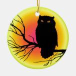 Spooky Owl Ornaments