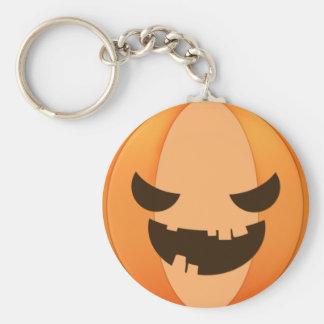 Spooky pumpkin keychain