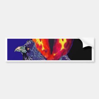 Spooky Ravens Vampire Eye By Sharles Bumper Stickers