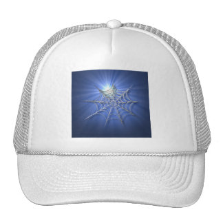Spooky Shiny Spiderweb Cap