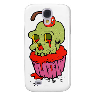 spooky skull cupcake cartoon samsung galaxy s4 cases