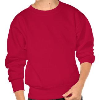 Spooky Skull   Halloween Pullover Sweatshirts
