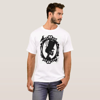 Spooky Skull In Frame men's T Shirt
