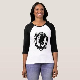 Spooky Skull In Frame Women's Jersey T T-Shirt