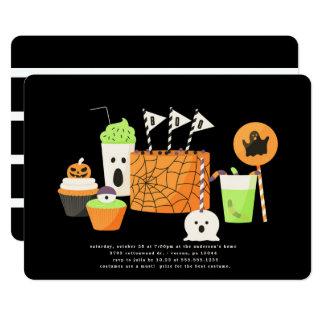 Spooky Soiree Halloween Party Invitation