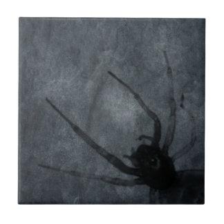 Spooky Spider Halloween Prints Ceramic Tile