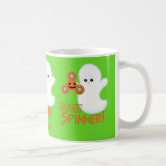 Spooky Spinner Halloween Ghost Personalized Mug
