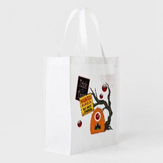 Spooky-Tacular Halloween Treat Market Totes