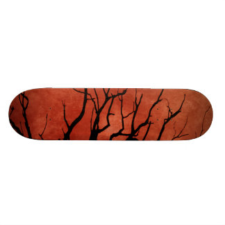 Spooky Tree Halloween Prints 21.6 Cm Old School Skateboard Deck