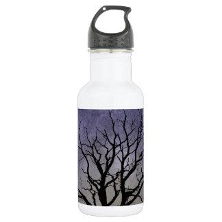 Spooky Tree Halloween Prints 532 Ml Water Bottle