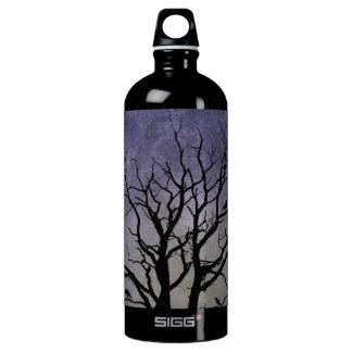 Spooky Tree Halloween Prints Water Bottle