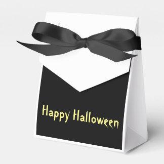 Spooky Tree (Yellow) Favor Box