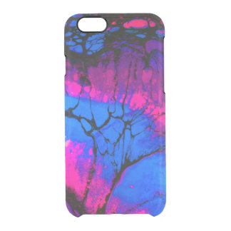 Spooky Trees in Evening Acrylic Art Clear iPhone 6/6S Case