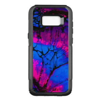 Spooky Trees in Evening Acrylic Art OtterBox Commuter Samsung Galaxy S8+ Case