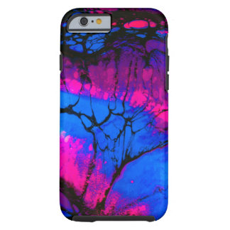 Spooky Trees in Evening Acrylic Art Tough iPhone 6 Case