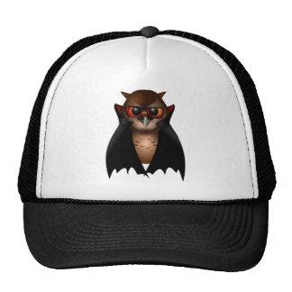 Spooky Vampire Owl Trucker Hat