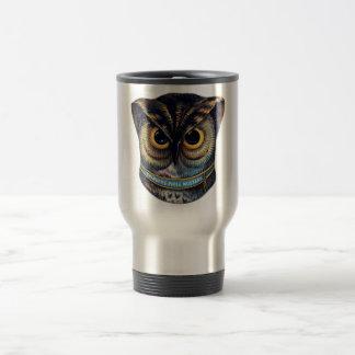 Spooky Victorian Owl - Colburns Mustard Coffee Mugs