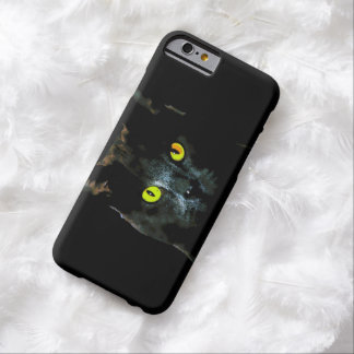 Spooky Watercolor Black Cat iPhone 6 Case Barely There iPhone 6 Case