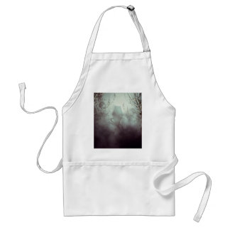 Spooky Witch House in Mist Standard Apron