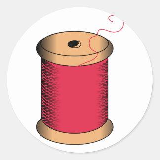 Spool of Thread Classic Round Sticker