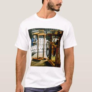 Spools of Silk in Factory Old Japan Vintage T-Shirt