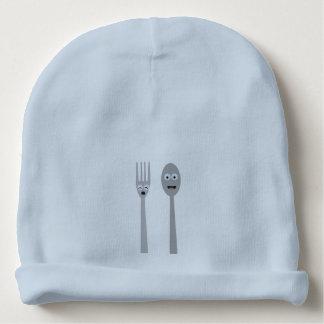 Spoon and Fork Kawaii Zqdn9 Baby Beanie