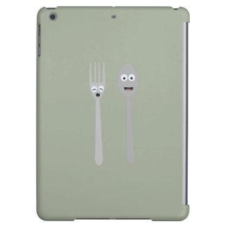 Spoon and Fork Kawaii Zqdn9 iPad Air Cover