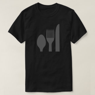 Spoon Knife Fork Graphic T-Shirt