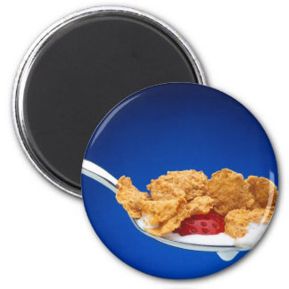 Spoonful of Cereal Magnet