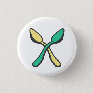 Spoonie Awareness Spoon Theory Recolor 3 Cm Round Badge
