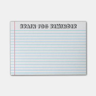 Spoonie - Brain Fog Post-It Notes-Chronic Illness Post-it Notes
