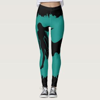 Spoonie Warrior (clear logo larg) Women's Leggings
