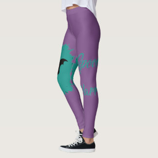 Spoonie Warrior (clear logo) Women's Leggings