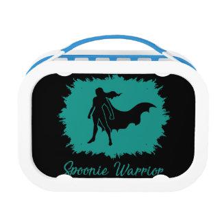 Spoonie Warrior (clear logo) Yobu Lunchbox