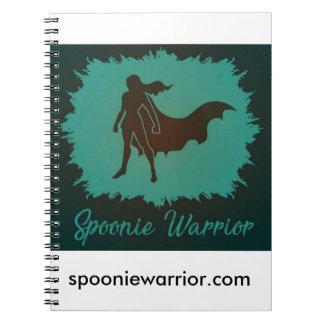 Spoonie Warrior Spiral Notebook