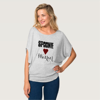 Spoonie Warrior with Heart and Spoons T-Shirt