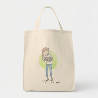 SPOONS - Chronic Illness Grocery Tote Bag