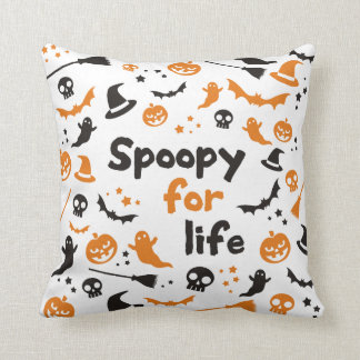 Spoopy For Life Cushion