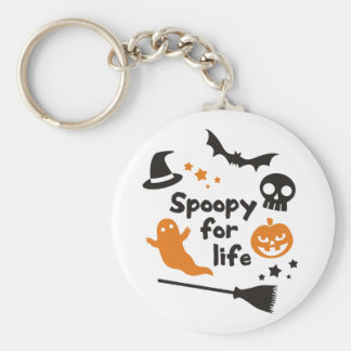Spoopy For Life Key Ring