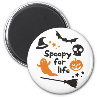 Spoopy For Life Magnet