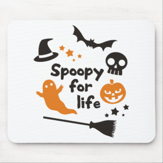 Spoopy For Life Mouse Pad