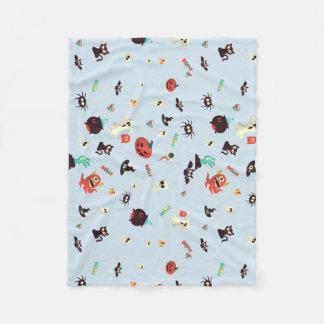 Spoopy Rug Fleece Blanket