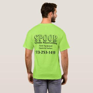 Spoor Portable Powerwashing T-Shirt