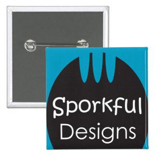 Sporkful Designs Logo Square Button
