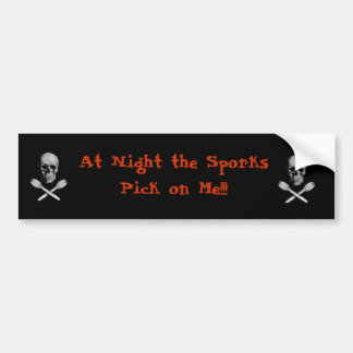 sporks bumper sticker